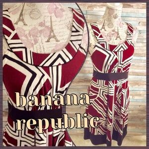 Woman's Banana Republic Stretch Sheath Dress SZ M